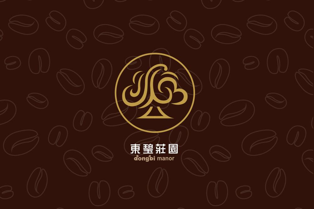 東璧莊園頂雲咖啡logo品牌形象設計