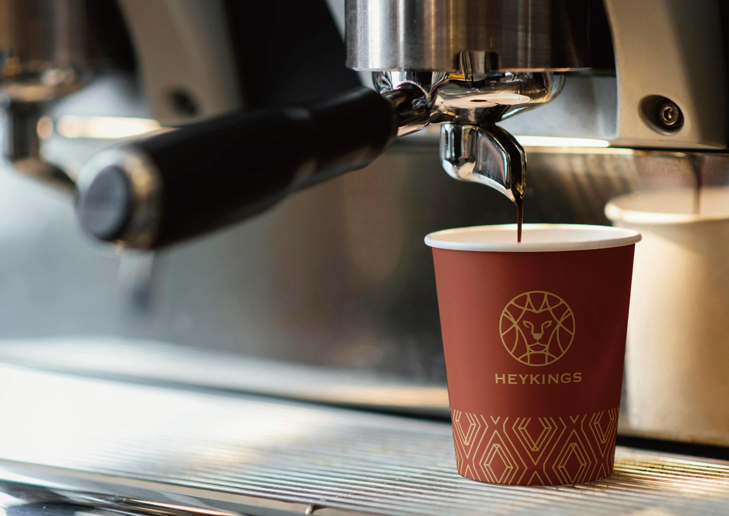 黑金士咖啡烘培 | CIS品牌識別形象設計